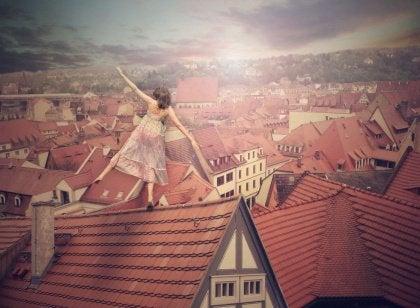 Balansowanie na dachu