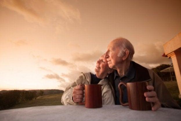 starsza wiekiem para