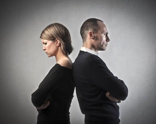 Kłótnia - nieszczęśliwe pary