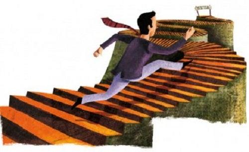schody - pokonywanie trudności