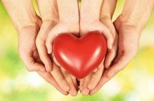 Serce na dłoni - wychowanie dzieci