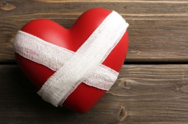 Serce - problemy w związku