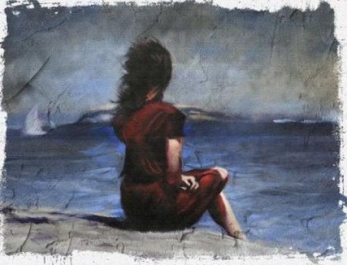Spokój wewnętrzny - kobieta