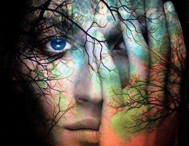 twarz-drzewo