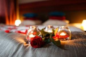 Świeczki róże