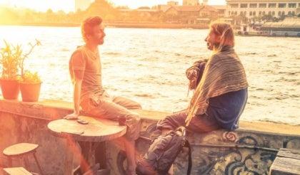 Przyjaciele nad rzeką