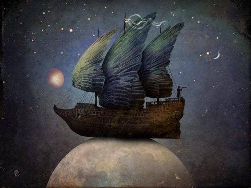 Statek na księżycu