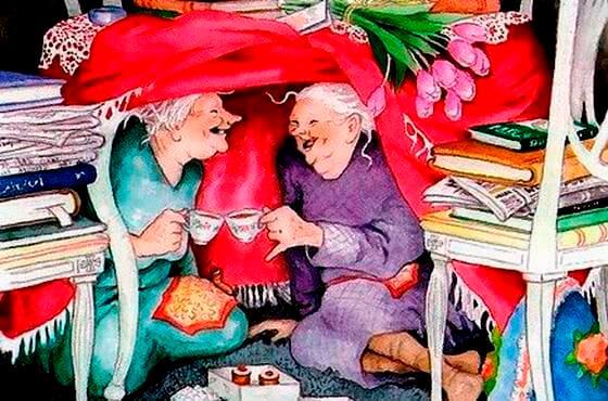 Szczęśliwe staruszki