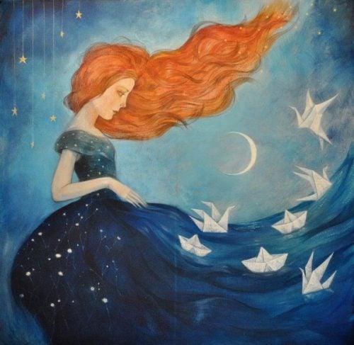 Kobieta z morza