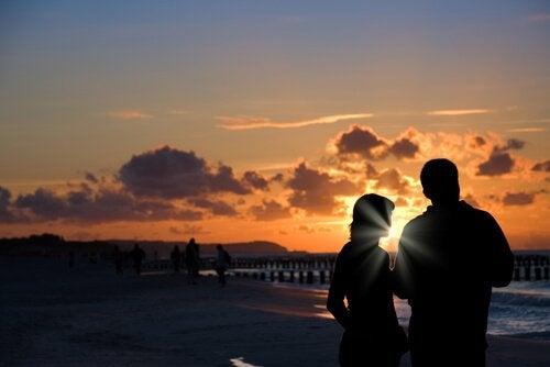 Para na plaży - były partner