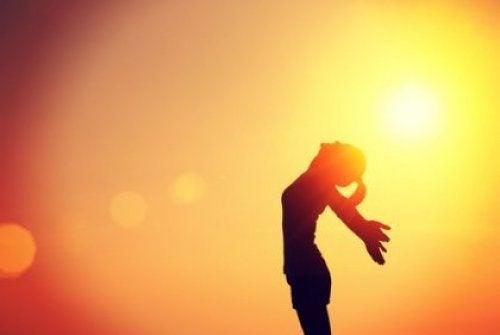 radość słońce