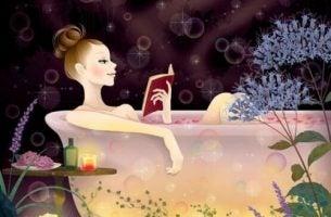 Czytanie w wannie