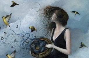 Kobieta - niepokój