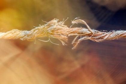 Pękająca lina