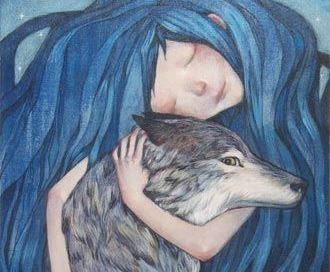 Przytulenie psa
