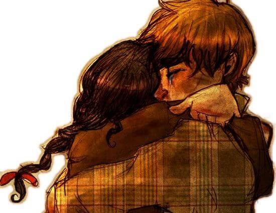 Przytulenie rozwiewa wszelkie troski