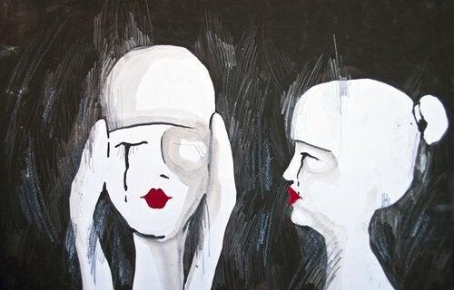Uśmiech przez łzy - dramatyzm