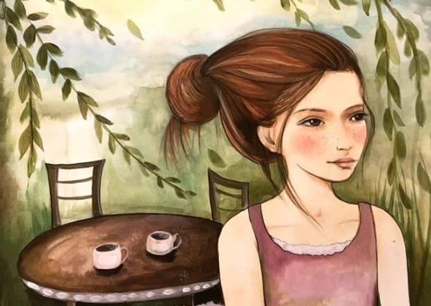 stolik z kawą