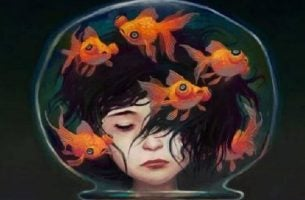 Kobieta i akwarium - skomplikowana osobowość