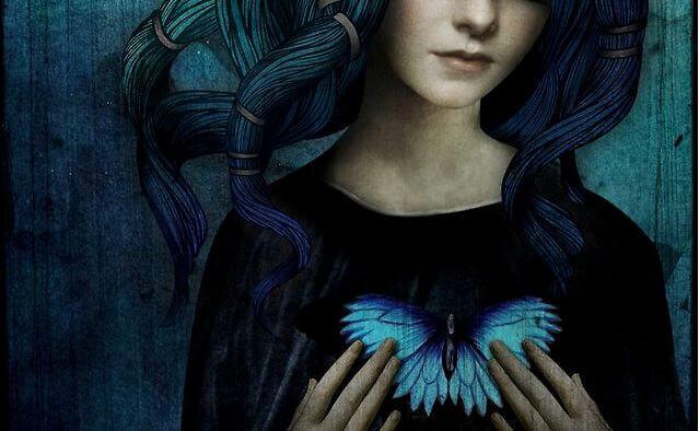 kobieta-serce-z-motyla