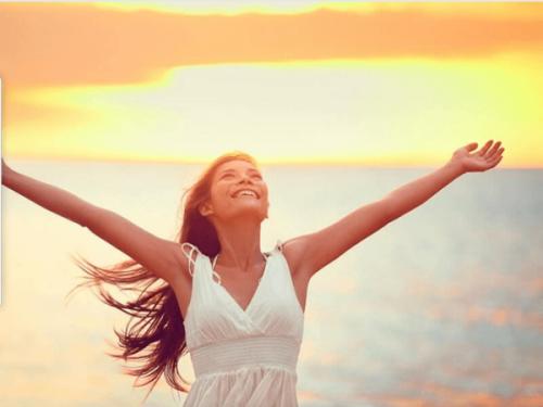Szczęśliwa kobieta - teraźniejszość