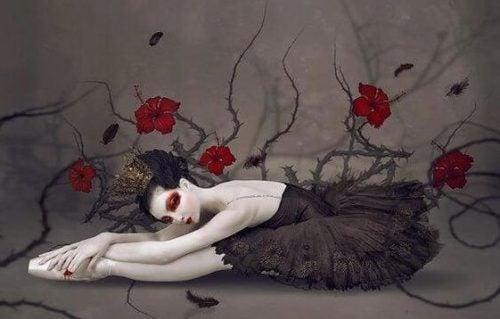 Czarna baletnica