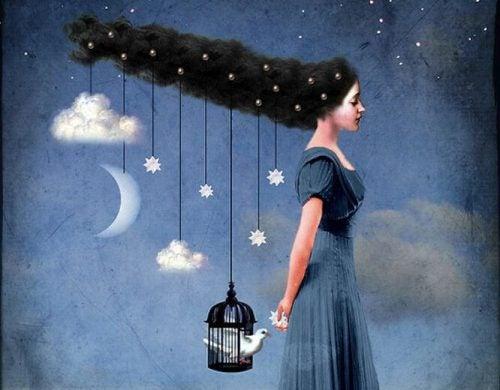 Dziewczyna i księżyc