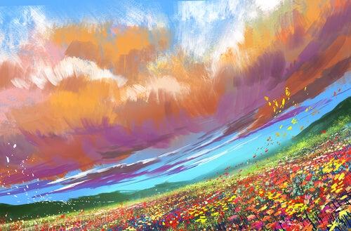 Kolorowy-obraz-polany
