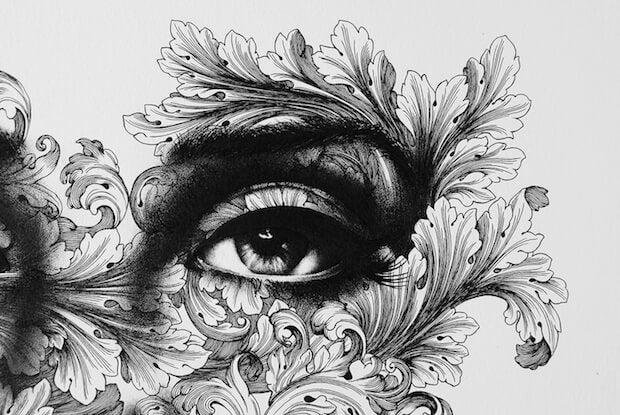Oko w kwiatach