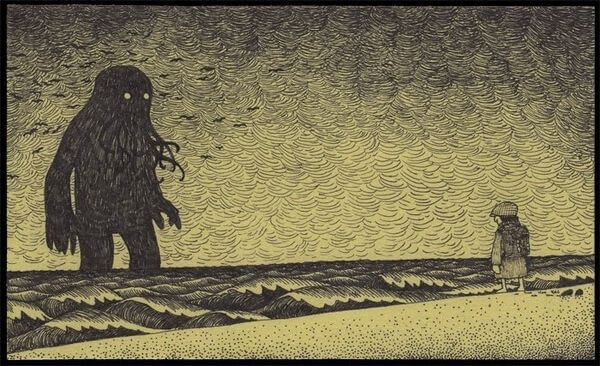 potwór morski