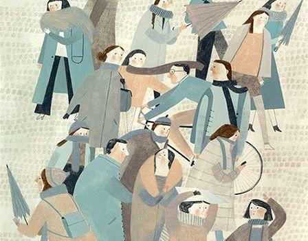 Rysunek - ludzie