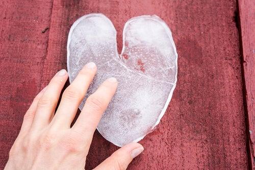 Serce - złamane coś się kończy