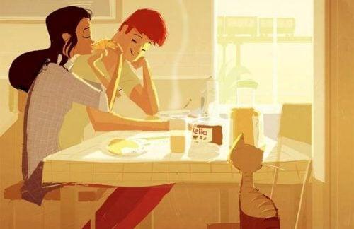 Partner nie pomaga mi w domu - my współpracujemy