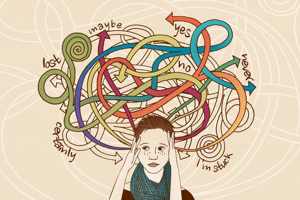Zestresowana kobieta ma wiele opcji do wyboru