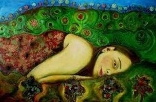 Zraniona kobieta - bezinteresowne dawanie