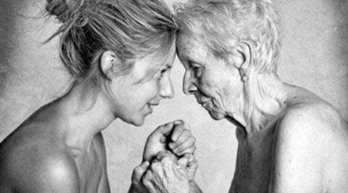 Dorosłe matka z córką