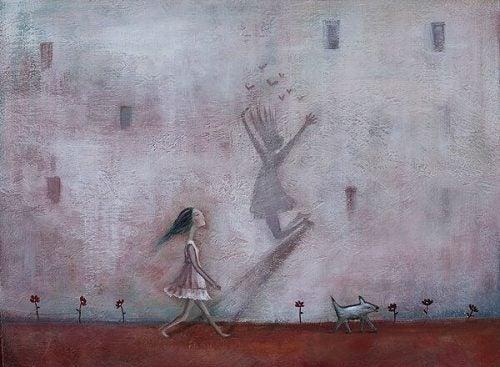 Dziewczyna z cieniem
