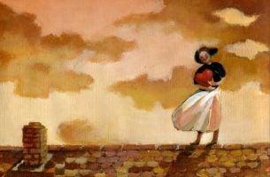 Kobieta trzymająca serce