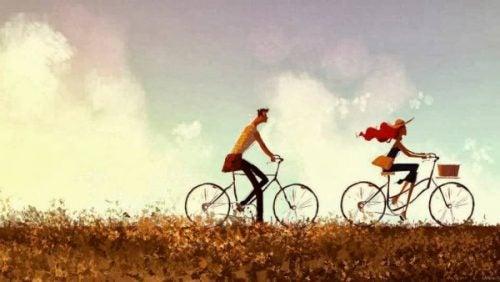 Pościg na rowerach