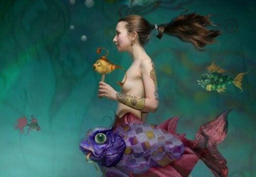 Syrena - kobieta ryba