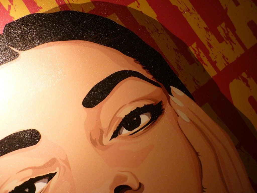 kobiece oczy rysunek