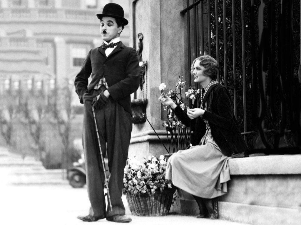 Charles Chaplin - uczucie szczęścia