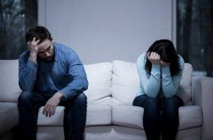 Kłótnia kobiety i mężczyzny