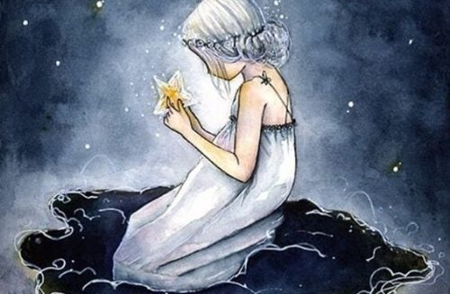 Kobieta z gwiazdą