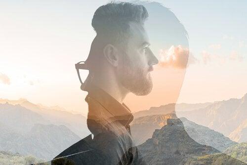 Mężczyzna - mindfulness