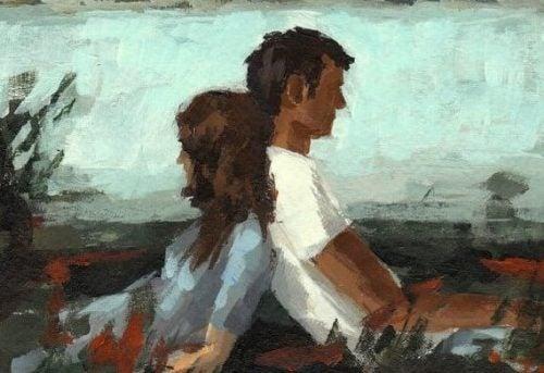Para ludzi - kochać kogoś