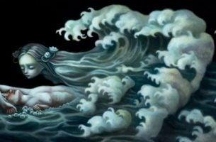 Chłopak i dziewczyna jako ocean - szczęście