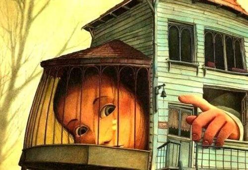 Wychowanie dziecka w klatce