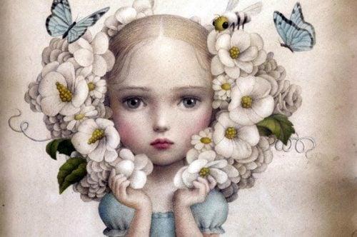 Dziewczynka z kwiatami - trudne dziecko
