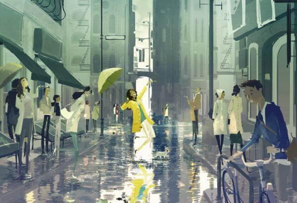 Pozwolenie? Na taniec w deszczu?